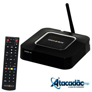 GIGABOX DROID 4K - IKS / SKS / CS / WI-FI - (ACM)