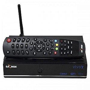 SATBOX VIVO X - IKS / SKS / CS / WI-FI - (ACM)