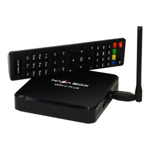 NAZABOX MINI C PLUS - P/ CABO + IPTV