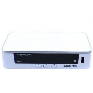 AMERICABOX S205 + PLUS - IKS / SKS / CS / WI-FI - (ACM)