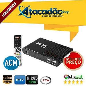 ALPHASAT TX HD - Wi-Fi ACM IKS/SKS/CS VOD IPTV