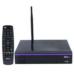 DUOSAT MAXX X HD  WI-FI IKS / SKS /IPTV ONDEMAND - ACM