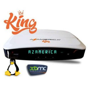 AZAMERICA KING 4K - WIFI / IKS / SKS / CS / IPTV / ONDEMAND - (ACM)