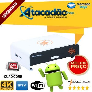 AZAMERICA KING IPTV 4K WIFI QUAD-CORE