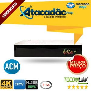 Tocomlink Festa + Plus 4K/WiFI/IKS/SKS/CS (ACM)