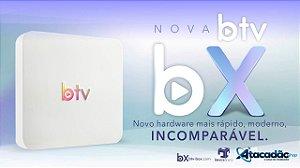 BTV X B10 / 4K /  Android 8.0.1 - SEM ANTENAS (SOMENTE INTERNET)