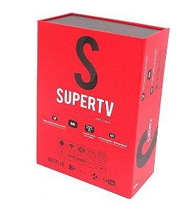 SUPERTV RED EDITION / 4K (SOMENTE INTERNET) VERMELHO