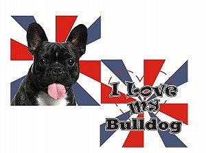 Almofada de raças - Bulldog Francês