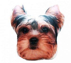 Almofada formato cachorro Yorkshire