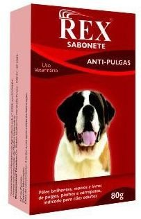 Sabonete anti-pulgas Rex