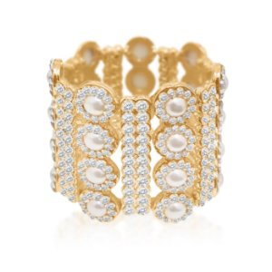 Bracelete Cristalino Luxuoso