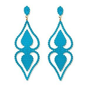 Maxi Brinco Dama Azul Celeste