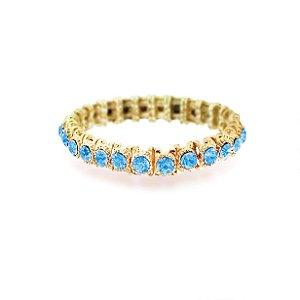 Pulseira Luxo Azul Ajustável
