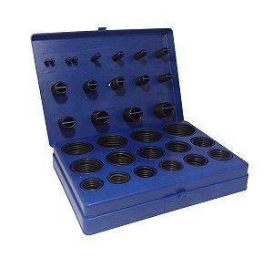 Kit Anel O'ring Milimetro - 428 Peças - APC