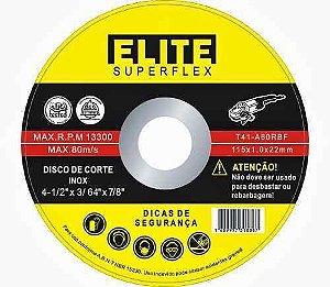 Disco de Corte 4.1/2 x 3/64 x 7/8 - Elite