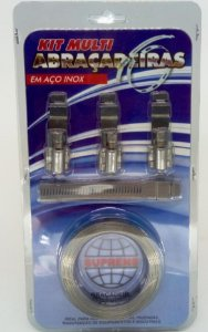 Kit Multi Abraçadeiras em Aço Inox| Suprens