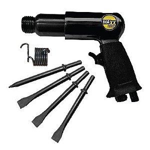 Martelete Pneumático 190mm C/ jogo de talhadeiras | Maxx Tools