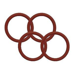 ANEL O'RING - COD: 2012 - Silicone -  1,78 X 9,25  - (10 Peças)