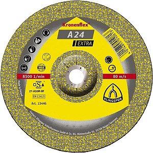 """Disco de Desbaste 4.1/2"""" A24 Extra - Klingspor"""
