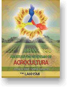 Abertura da Academia de Agrocultura