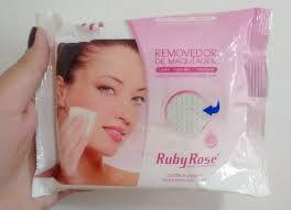 Lenço demaquilante  Ruby Rose
