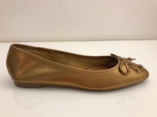 SAPATILHA QUEEN SHOES CRISTAL BRONZE