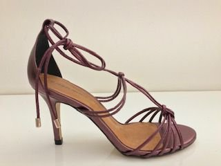 SANDALIA QUEEN SHOES CRISTAL WINE