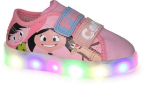 TÊNIS DISNEY LUNA LIGHT LED ROSA