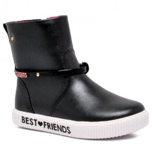 BOTA INFANTIL PAMPILI BEST FRIENDS PRETO 435079