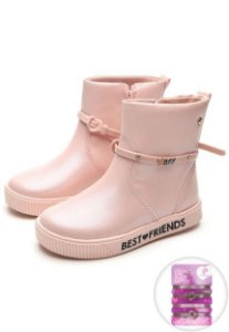 BOTA INFANTIL FEMININA PAMPILI BEST FRIENDS ROSA 435079