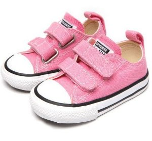 TÊNIS ALL STAR VELCRO LONA PINK  CK05080006