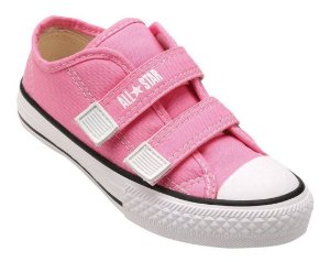 TÊNIS ALL STAR VELCRO LONA ROSA CK05070006