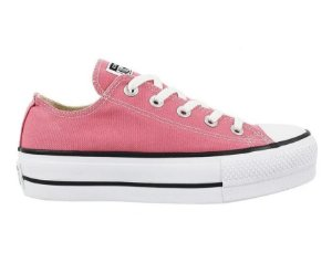 TÊNIS ALL STAR PLATAFORMA LONA ROSA CT09630017