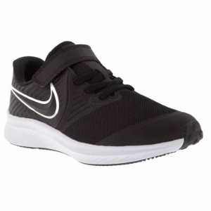 TÊNIS NIKE STAR RUNNER PRETO E BRANCO AT1801-001