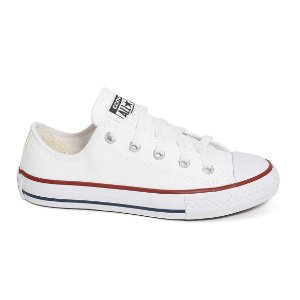 TÊNIS ALL STAR LONA BRANCO CT00010001 - BRANCO