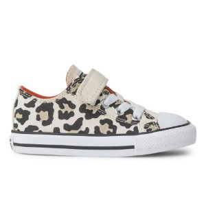 TÊNIS ALL STAR INFANTIL ANIMAL PRINT CK08120001 - BEGE/LJA/BR