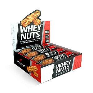 Barra de proteína Whey Nuts CX C/12 - Bodyaction