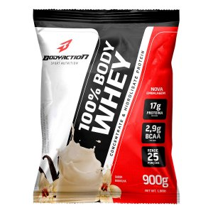 Proteína 100% Body Whey 900g - Bodyaction