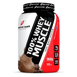 Proteína 100% Whey Muscle 900g - Bodyaction