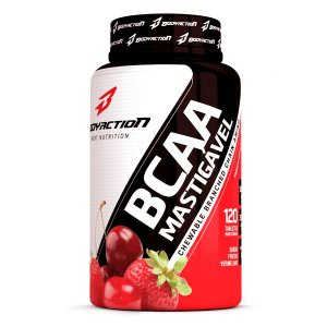BCAA Mastigável 2g 120 tabletes - Bodyaction