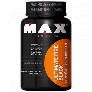 Termogênico Ultimate Fire Black - Max Titanium
