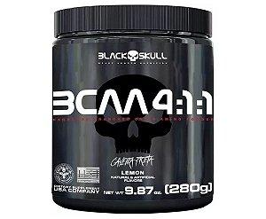 Bcaa 4:1:1 9.87 Lbs 280g - Black Skull