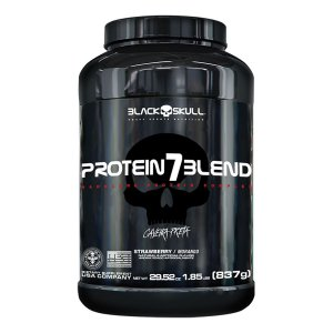 Proteina 7 Blend 837g - Black Skull