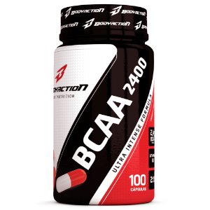 BCAA 2400 100 cápsulas - Bodyaction