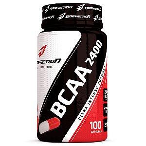BCAA 2400 Ultra Intense Formula 100 Caps - Bodyaction