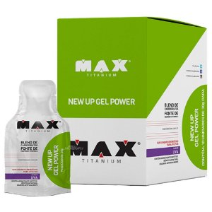 New Up Gel Power (DISPLAY 10 UNIDADES) - Max Titanium