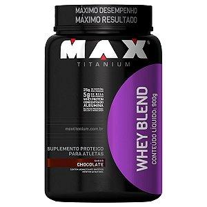 Whey Blend 900g (POTE) - Max Titanium