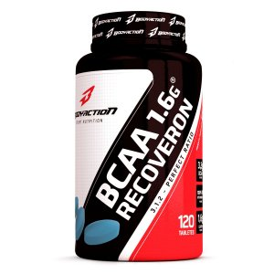 BCAA 1.6g Recoveron 120 tabletes - Bodyaction