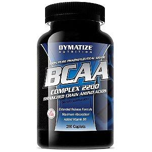 BCAA 200 cápsulas - Dymatize