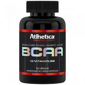 BCAA W/Vitamin B6 (150 Capsulas) - Atlhetica Nutrition